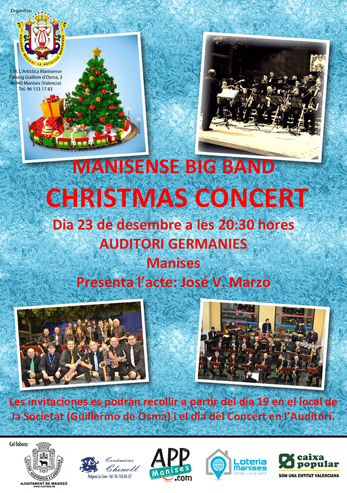 1612 Manisense Big Band Christmas